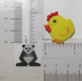 "Yellow Chick 1 1/8"" high"