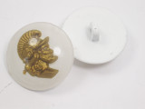 "Button 1"" (25mm) Centurion Head White Background - Per Piece"