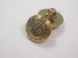 "Button 5/8"" (15.87mm) Gold Military Design - Per Piece"
