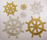 Buddhist Dharma Wheel Symbol *Sizes* *Colors*