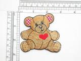 Teddy Bear Gingham Ears