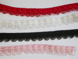 """Fancy Stretch Lace 1/2"""" (12.7mm) *Colors* 5 Yards"""