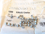 Swarovski 1088 XIRIUS Chaton Pointed Back SS26 Clear CRYSTAL 001 x 60 pieces