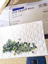 Swarovski Crystal Peridot 214 SS16 4mm apx (Hotfix) Flatback Rhinestones 144 pcs