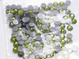 Swarovski Crystal OLIVINE SS16 4mm apx (Hotfix) Flatback Rhinestones 144 pcs