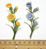 """Cornflower Spray *colors* 3 1/2"""" x 1 1/2"""""""