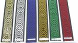 Hex Celtic Woven Jacquard Ribbon Border wide tjr9721.5