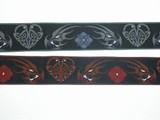 Celtic dragon jacquard ribbon