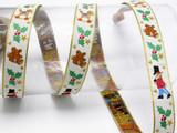 "Yuletide Christmas 3/4"" (20mm) Jacquard Ribbon"