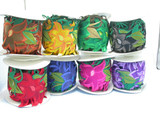 "Iron On Sari Border Flowers on Vine 118mm 4 5/8 wide"" Priced Per Yard Fully Embroidered"