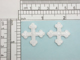 """Cross Equal Rounded End Cross 1"""" (25mm) 2 pack & Up"""
