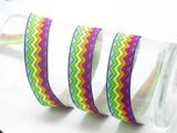 """Candy Ripples Jacquard Ribbon 1"""" (25mm) Priced Per Yard"""