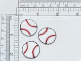 "Baseball 7/8"" 22mm - 3 Pack"