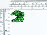 Green Alligator Applique