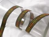 "Jacquard Ribbon 5/8"" Metallic Formal Multicolor"