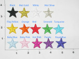 """Star 1"""" (25mm)  Pack 25"""