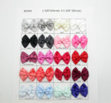 Satin Ribbon Double Bows *Colors* 10 Pack