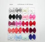 Satin Ribbon Double Bows *Colors* 10 Pack