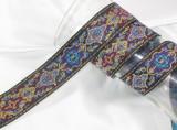 """Jacquard Ribbon 1 1/2"""" Renaissance Style"""