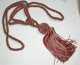 Copper & Gold Fancy Curtain Tie Back Tassel