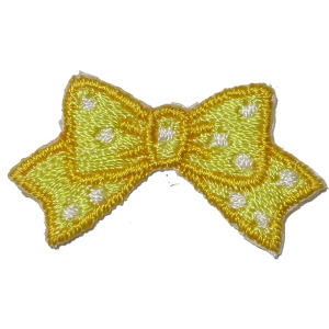 Yellow Bow 25 pieces