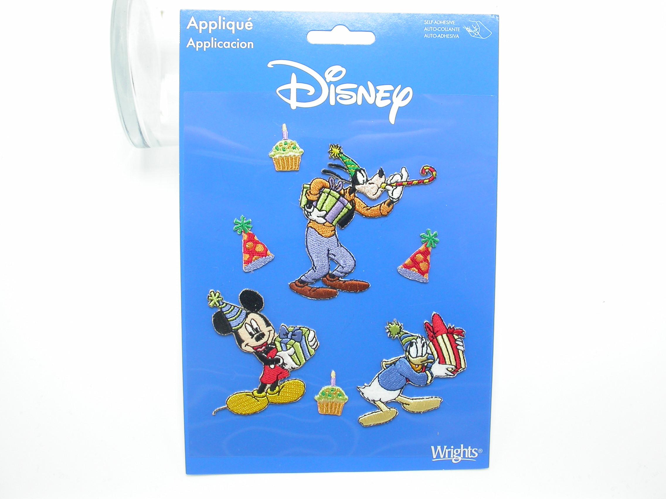 Disney Character Party Ensemble Self Adhesive Appliques