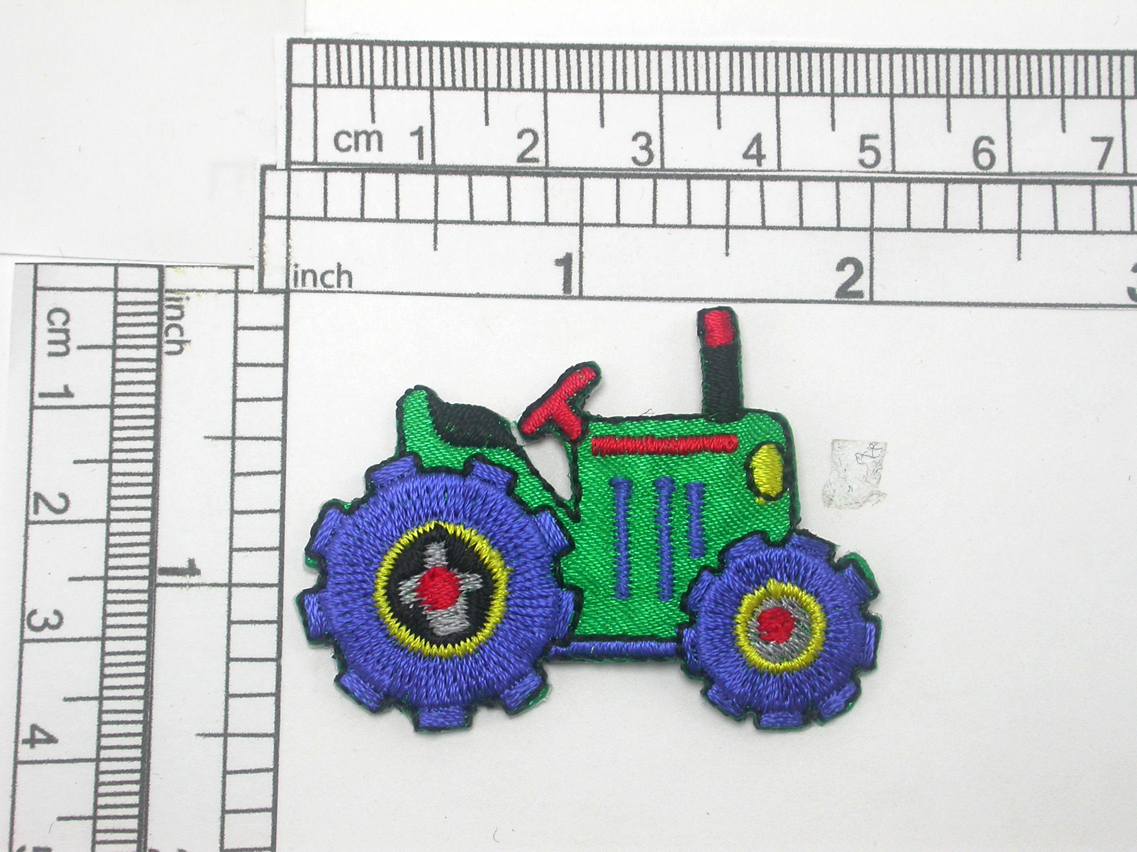 Tractor Patch Iron On Embroidered applique