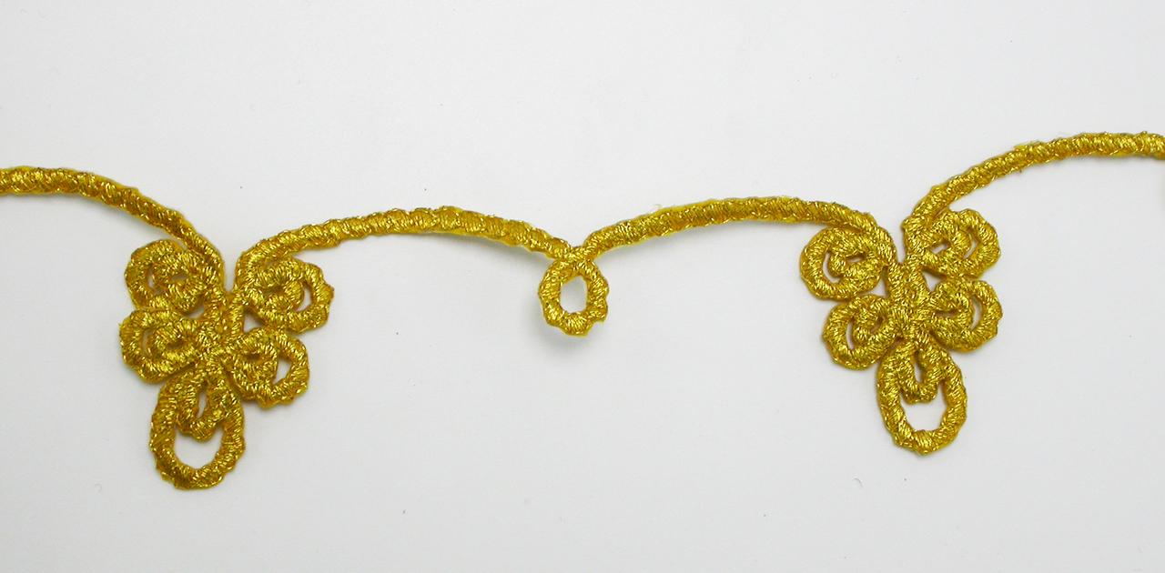"Decorative Strip Quinloop Gold 12"" & up"
