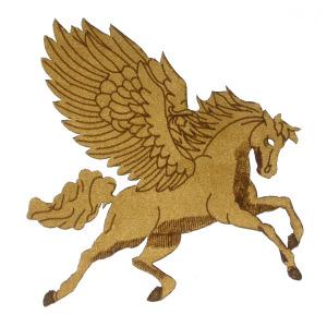Pegasus Laser cut Suedette