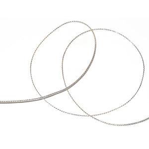 """Cord 1/16"""" Metallic Silver 12 Yards"""