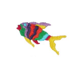Large Multi Color Fish,
