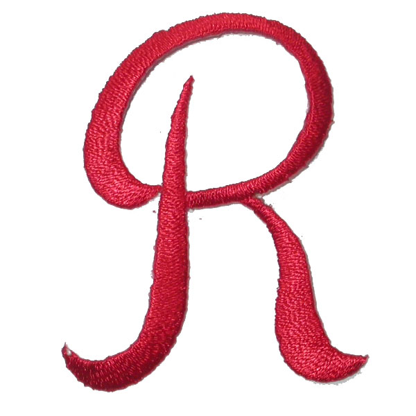 Script Red Letter R