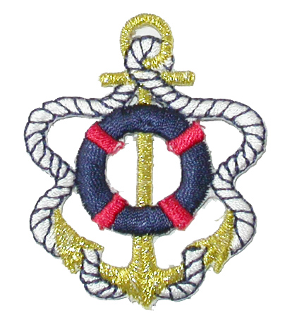 Anchor with Life Preserver