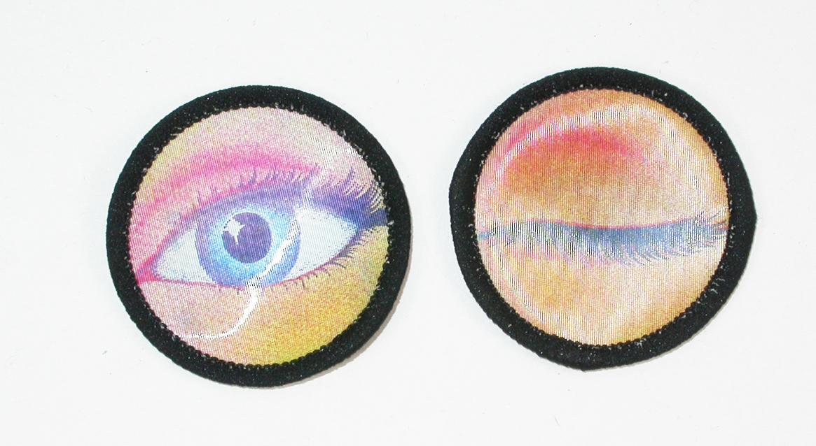 Holographic Winking Eye