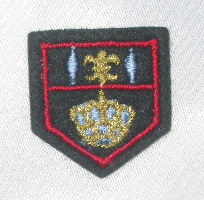 Crest Fleur De Lys & Crown