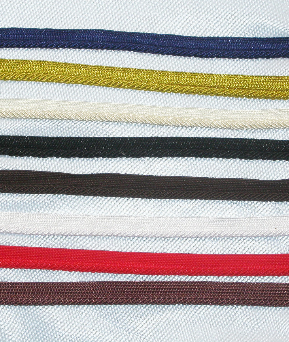 """Cordedge Piping 3/8"""" 10 Yards *Colors*"""