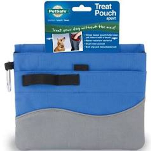 Treat Pouch Blue