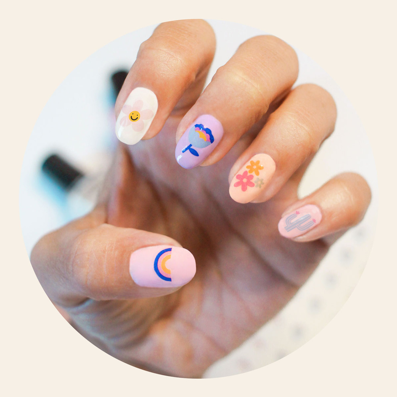 Cirque Colors x Museum of Memories Nail Decals