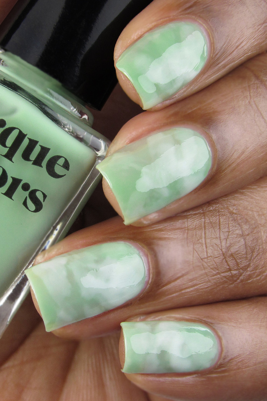 Green Jade Nail Art Set