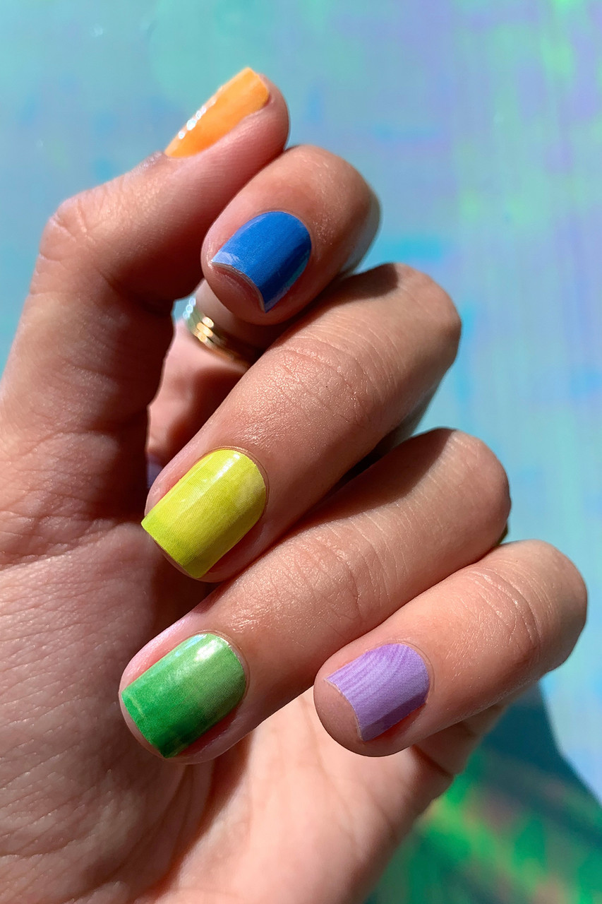 Painterly Nail Wraps
