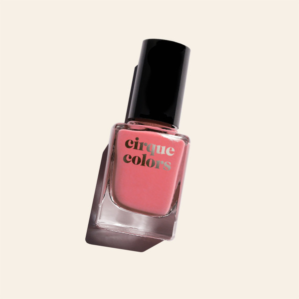 Rose Coral Creme Nail Polish - Cirque Colors Spotted in SoHo