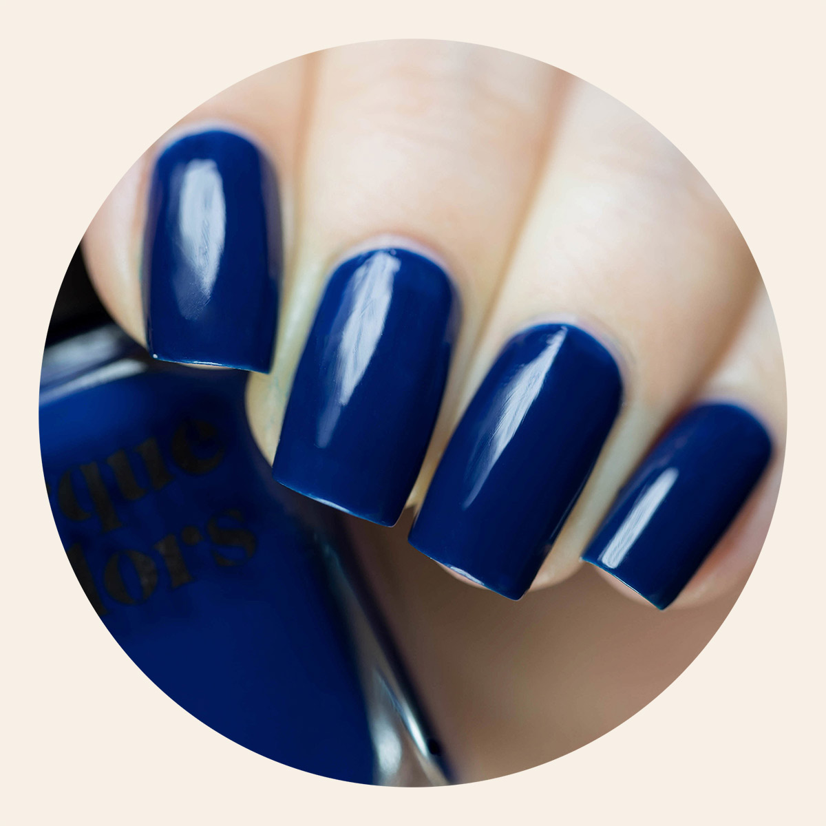 Navy Blue Creme Nail Polish - Cirque Colors Midnight Cowboy