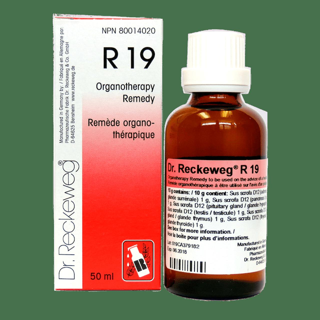 Dr Reckeweg R19 - 50 Ml