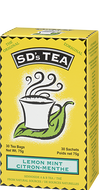 SD's Tea Lemon Mint 30 Teabags by Platinum Naturals