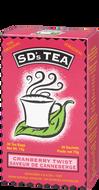 SD's Tea Cranberry Twist 30 Teabags by Platinum Naturals