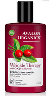 Avalon Organics Wrinkle Therapy with CoQ10 & Rosehip Perfecting Toner 237 ml
