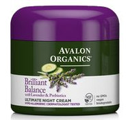 Avalon Organics Brilliant Balance Ultimate Night Cream 57 g