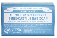 Dr Bronner's Baby Mild Pure Castile Bar Soap 140 Grams