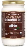 Dr Bronner's Whole Kernel Organic Virgin Coconut Oil 30 Oz