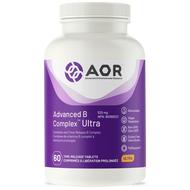 AOR Advanced B Complex Ultra 60 Tablets